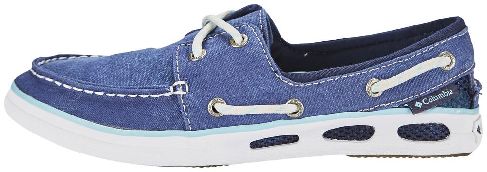 Columbia Freizeitschuh »Vulc N Vent Boat Canvas Shoes Women«, blau, blau